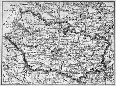 Antiques Somme Maps, Atlases & Globes Somme 1878 Old Antique Vintage Map Plan Chart