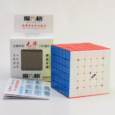 QiYi MFG Wu Hua 6x6x6 Speed Magic Cube Twist Puzzle Intelligence Toy Multi-Color