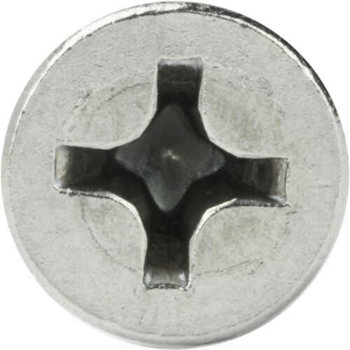 "#4 x 5//8/"" Phillips Flat Head Sheet Metal Screws Stainless Steel Qty 1000"