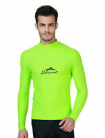 Diving Jacket Solid Wetsuit Tops Men Swimsuit Swimwear Rash Guard Male Windsurf
