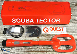 Quest-SCUBA-TECTOR-X-Pointer-Metalldetektor-TOP-PREIS-NEU-vom-Fachmann