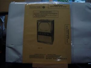 SAMS PHOTOFACT MANUAL & SCHEMATIC TELEVISION SILVERTONE 120 & 159 CH 478.311