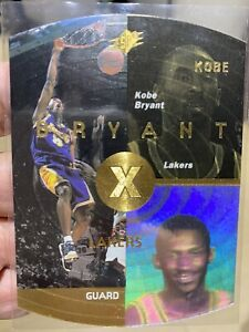 1997-98 Upper Deck SPX Gold Die-Cut Kobe Bryant Rookie Card #21 Near mint