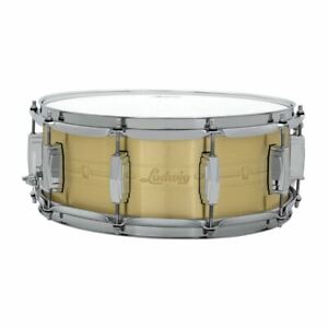 Ludwig-LBR5514-Heirloom-Brass-Snare-Drum-5-5-034-x-14-034
