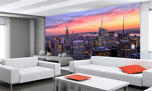New-York-City-Midtown-Wall-Mural-Photo-Wallpaper-GIANT-WALL-DECOR-PAPER-POSTER