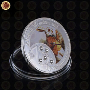 WR-Silver-Coin-Commemorative-Gold-Foil-Collection-Coin-Collectible-Gifts