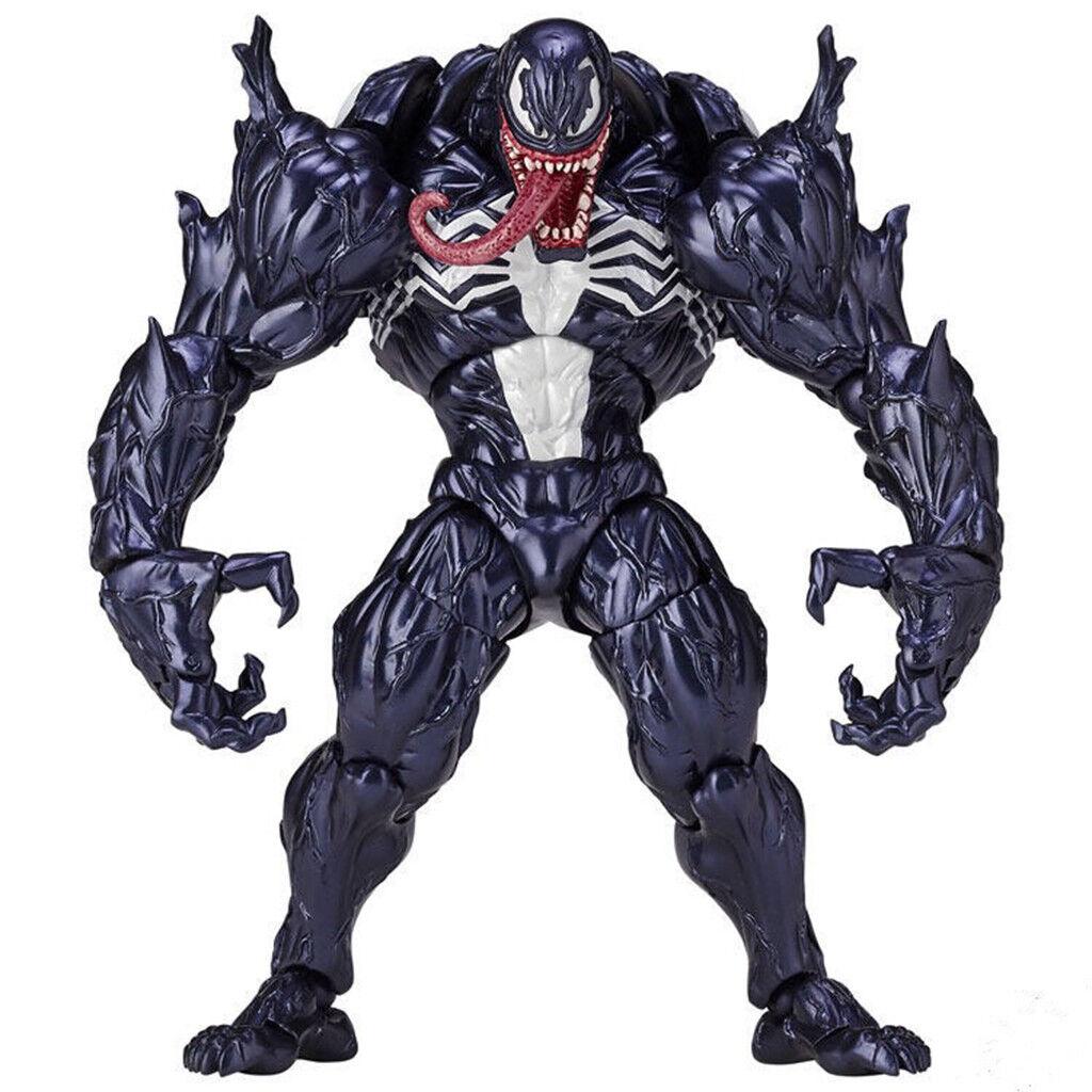 Marvel Spider Man Venom No.003 Revoltech Series PVC Action Figure Toy New IN Box