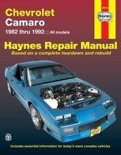 Chevrolet Camaro 1982 Thru 1992 Haynes Repair Manual 24016