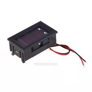 Digital-Car-Mobile-Motorbike-0-100V-0-10A-Voltmeter-Ammeter-Voltage-Ampere-Meter