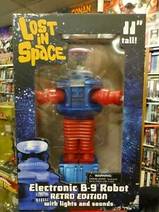 Lost-In-Space-Original-TV-Series-Electronic-B-9-Robot-Retro-Edition-from-DST