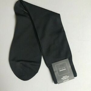 Saks-Fifth-Avenue-BLACK-LABEL-Men-039-s-Lightweight-DRESS-Socks-10-13-NWT-Black-20