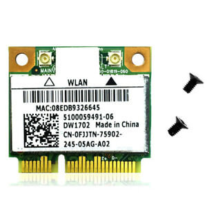 Dell YFHN7 DW1701 802.11bgn Wlan Wireless Mini PCI-E Card BCM94313HMGB+BLUETOOTH