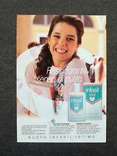 G557 - Advertising Pubblicità - 1989 - INFASIL INTIMO