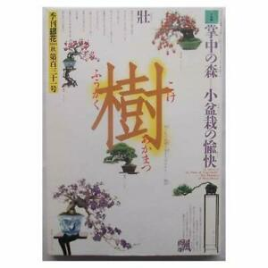 Bonsai-Book-Issue-of-the-quarterly-silver-flower-autumn-2002-No-131-Special-Feat