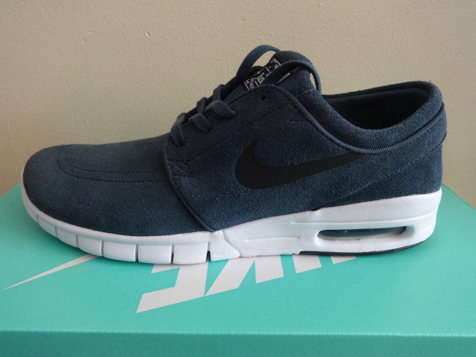 Nike Stefan Janoski Max mens L skate shoes 685299 402 trainers SB squadron blue