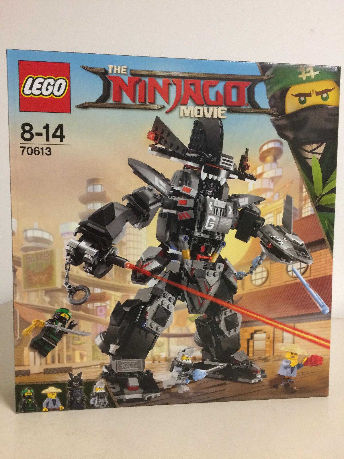 LEGO NINJAGO THE MOVIE 70613 GARMADON'S ROBO SHAK with 4 minifigures Lloyd Pat