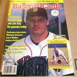Feb 1991 Baseball Cards Magazine Clemens Cover 6 Collector