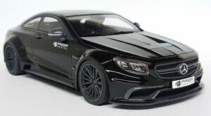 GT-Spirit-1-18-Scale-Prior-Design-Mercedes-Benz-S-Class-Coupe-AMG-Black-Car