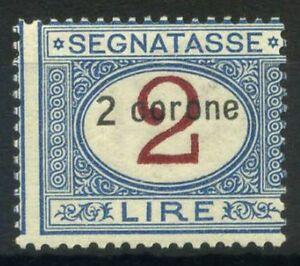 Dalmazia-1922-Sass-3-Nuovo-100-Segnatasse-2-C-2-l