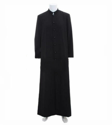 Medieval Wicca Pagan Ritual Robe Costume Clergy Cassock Roman Orthodox Robe