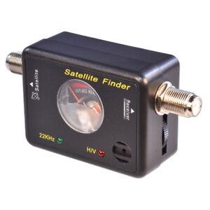 Buscador-DE-SENAL-SATELITE-cable-de-plomo-SATFINDER-SAT-Medidor-Plato-Caravana