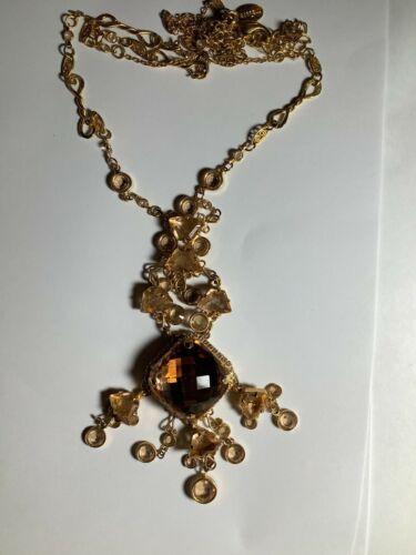 Sorrelli Gold Pendant Necklace