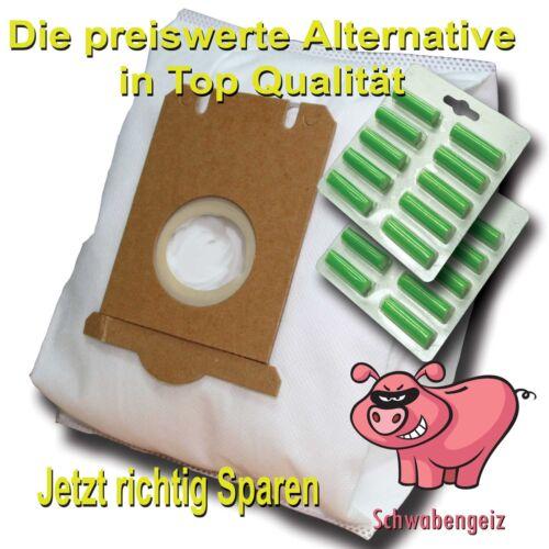 20 x sacchetti aspirapolvere 20 profumo adatto per AEG Originale Misura S-BAG