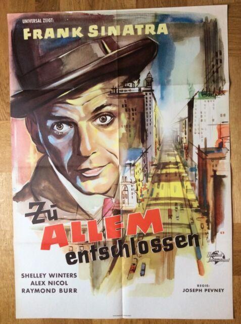 Zu allem entschlossen (Kinoplakat/Filmplakat '59) - Frank Sinatra