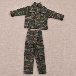 1//6 Jungle Camouflage Combat Uniforms Clothes Suit Fit 12/'/' Male Soldiers Figure