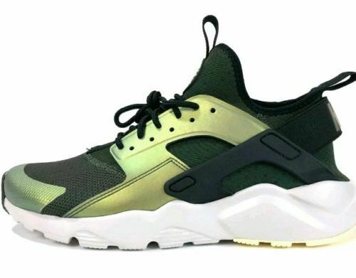 d066f28cf332 Nike Air Huarache Run Ultra SE Size 8 Sequoia Black 875841-302 Mens Shoes  for sale online