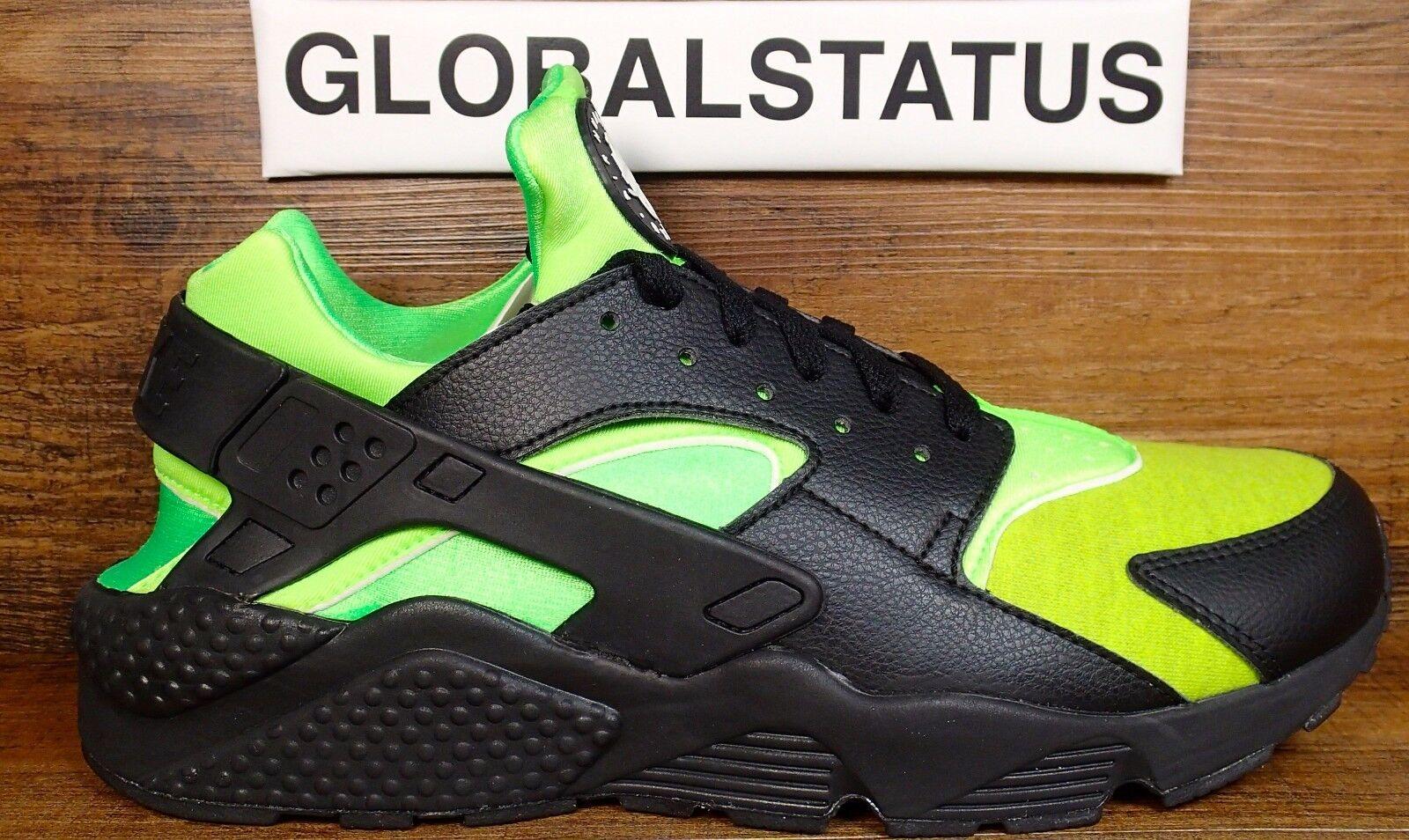 Uomo nike id aria huarache correre premio green nero 11 scarpe 777330 994 sz 11 nero 3a2be1