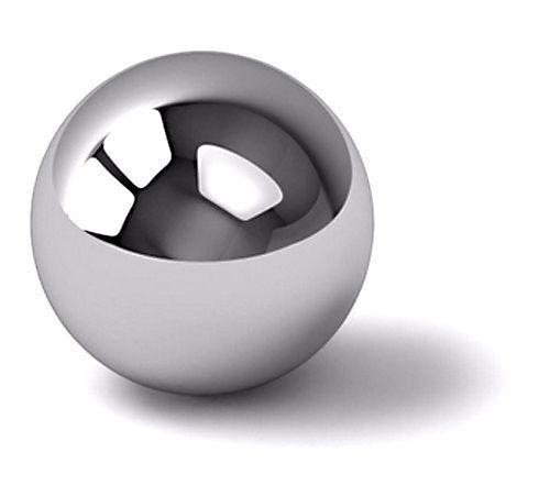 Lego Technic Chrome Silver Steel Ball Metal Robot Marble Mindstorms 99948  Ev3
