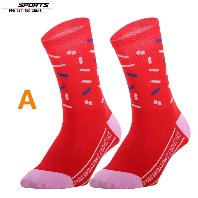 Details about  /Pro Mens Womens XC Cycling Socks Riding Sports Ankle Socks Bicycle Socks White