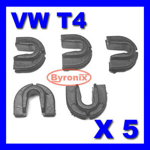 Vw-T4-Transporter-Caravelle-Parrilla-Frontal-Trim-Clips-Sujetadores