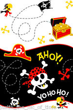 PIRATE FUN Boys Or Girls Birthday Party Tableware Decorations Plastic Tablecover