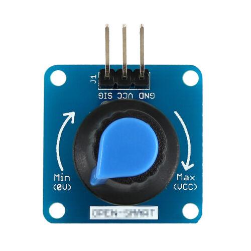 Blue Rotary Angle Knob Light Volume Control Sensor Module for Arduino RH