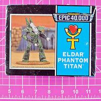 Epic 40k Eldar Phantom Titan (more Recent Version) Rare Gw Citadel Warhammer