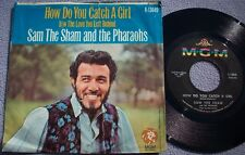 SAM THE SHAM AND PHARAOHS How Do You Catch A Girl USA PIC SLEEVE 1960s Pop Beat