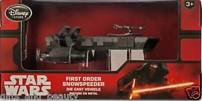 Disney Star Wars The Force Awakens First Order Snowspeeder Die Cast Vehicle