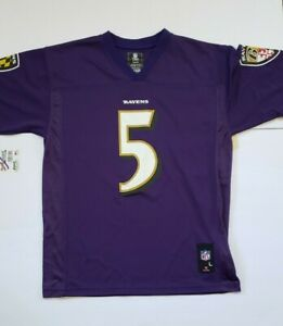 Details about Baltimore Ravens Joe Flacco #5 NFL Brand Jersey Youth Size L NWT