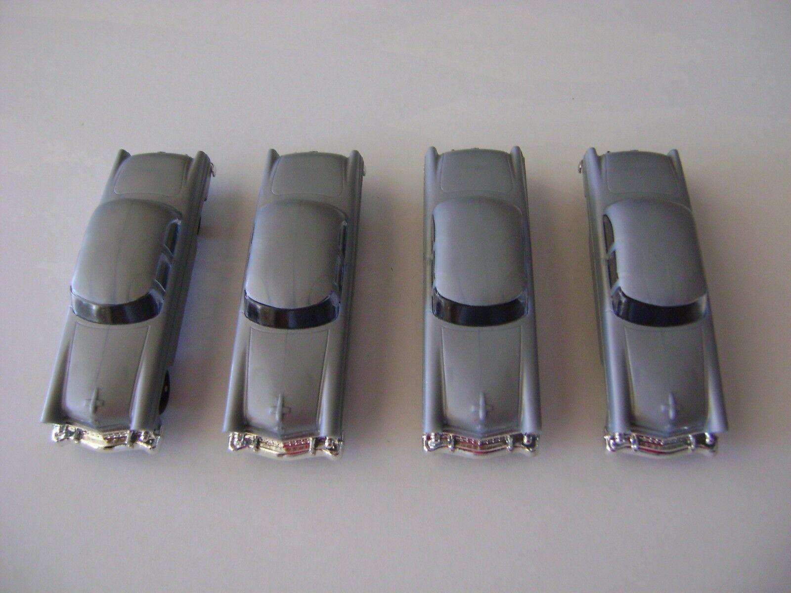 Lionel 6414 Plata Madison Hardware Original Autos - (juego de cuatro)