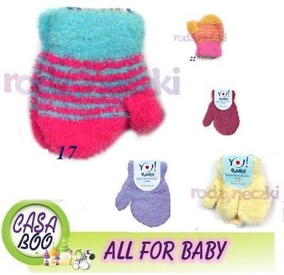 Piccolo Baby Neonato Guanti Con Stringa Soft Worm Inverno Taglia Unica-