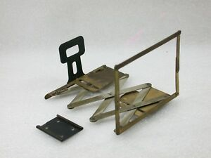 Vintage-Collapsible-Brass-Sports-Speed-finder-Flash-Shoe-Mounted