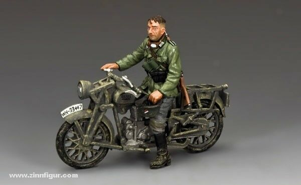 King & Country-WW2 Wehrmacht Series-WH11- Dispatch Rider