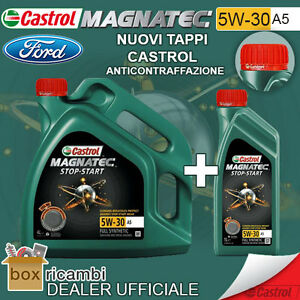 OLIO-MOTORE-CASTROL-MAGNATEC-5W-30-A5-LT-5-ORIGINALE-FORD