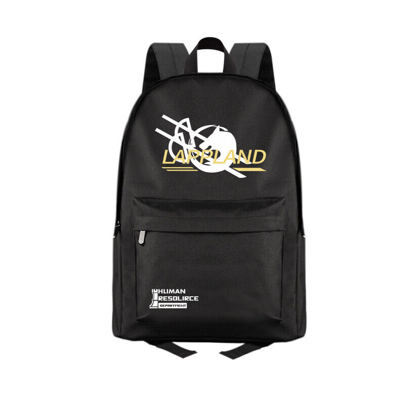 Anime Arknights Lappland Casual Fashion Backpack Shoulders Bag Schoolbag #M02