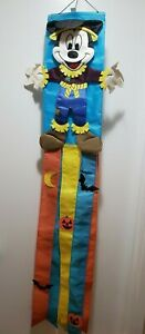 Vintage-Mickey-Mouse-3D-Windsock-Halloween-Scarecrow-Flag-51-Inches-Wind-Sock