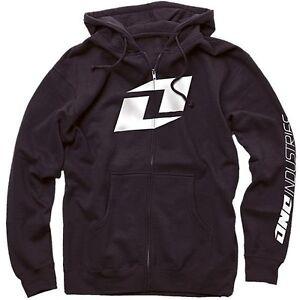 One-Industries-Mens-Icon-Hoodie-Sweatshirt-Black-MX-ATV-Off-Road-Motocross-SALE