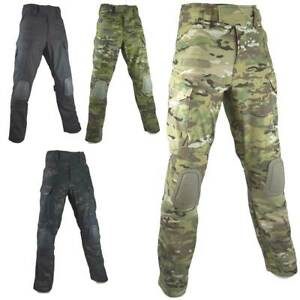 BULLDOG ROGUE MK3 COMBAT TROUSERS WITH KNEE PADS Military Army PCS Airsoft Pants