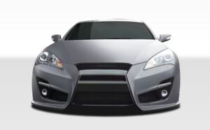 10-12-Fits-Hyundai-Genesis-2DR-TP-R-Duraflex-Front-Body-Kit-Bumper-107749